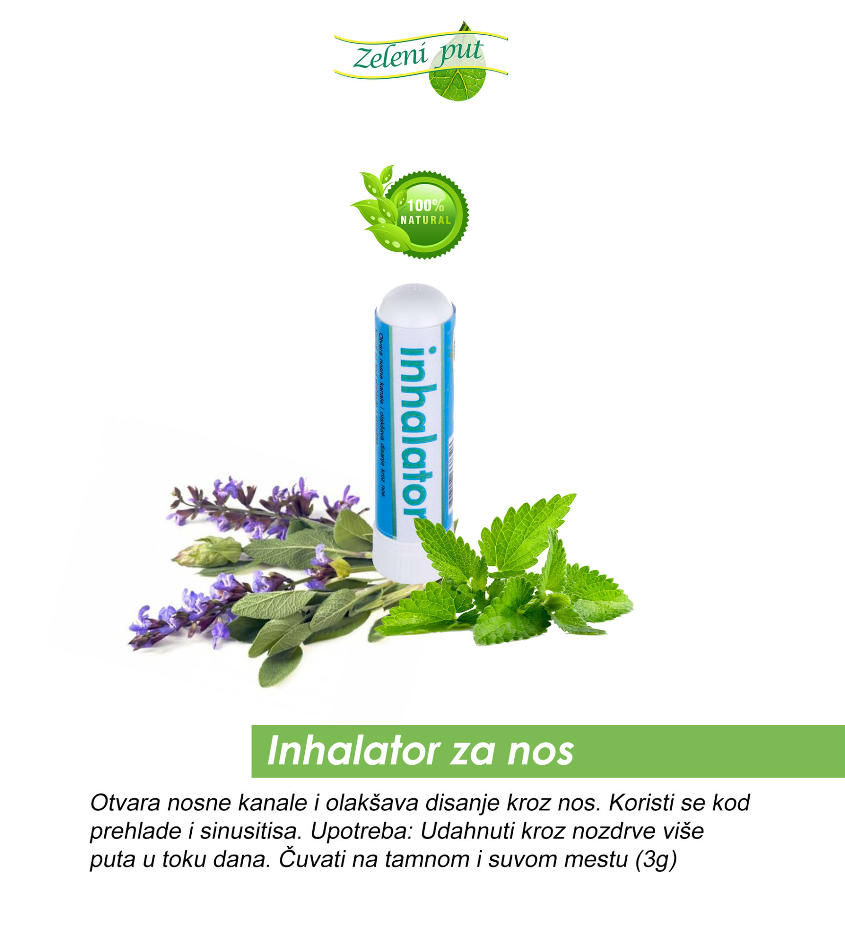 Inhalator za nos