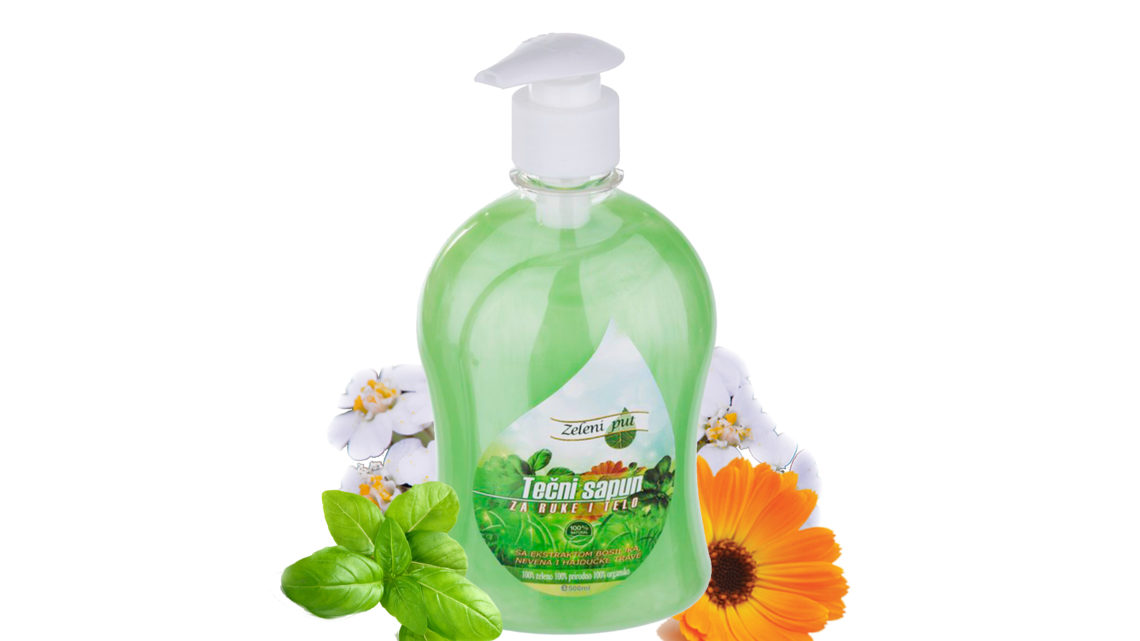 Tečni sapun za ruke i telo