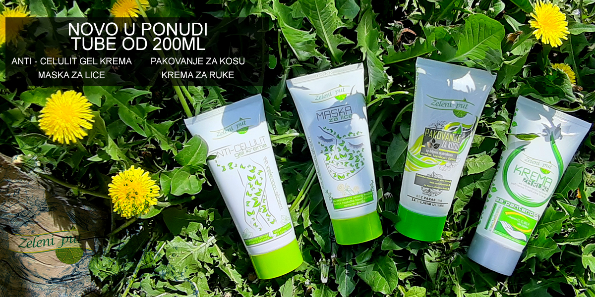 Tube 200ml zeleni put